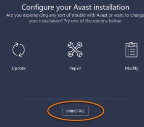 How To Uninstall Avast That Cannot Be Removed