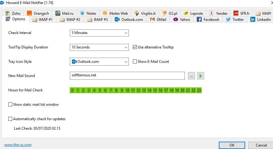 Howard Email Notifier for Windows 2021